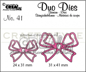 Wykrojnik CreaLies - Duo Dies no. 41 Bows