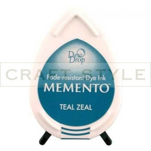 Tusz Memento Dew Drop - Teal Zeal