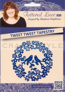Wykrojnik Tattered Lace - Tweet Tweet Tapestry