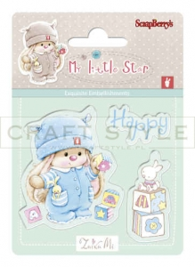 Stempel ScrapBerry`s - Bunny My Little Star - Bunny Birthday