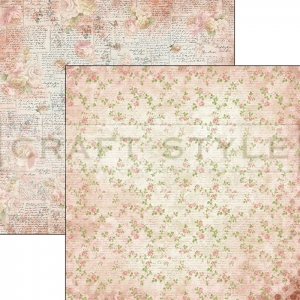CBS010  Romantic Time Collection - papier 30,5x29,5 cm