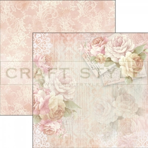 CBS011  Romantic Time Collection - papier 30,5x29,5 cm