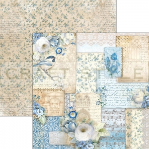 CBS020 Broccato Estense Collection - papier 30,5x29,5 cm