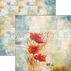 CBS033 Sound of Spring Collection - papier 30,5x29,5 cm