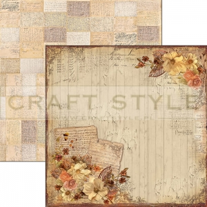 CBS015 Autumn Whispers Collection - papier 30,5x29,5 cm