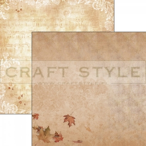 CBS016 Autumn Whispers Collection - papier 30,5x29,5 cm