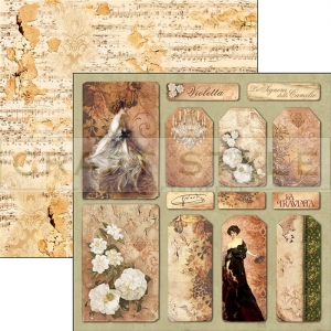 CBSS043 La Traviata Collection - papier 30,5x30,5 cm