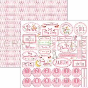 CBSS060 Ninna Nanna Girl Collection - papier 30,5x30,5 cm