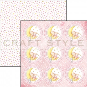 CBSS063 Ninna Nanna Girl Collection - papier 30,5x30,5 cm