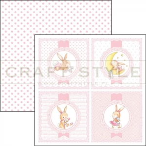 CBSS064 Ninna Nanna Girl Collection - papier 30,5x30,5 cm
