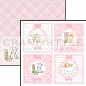 CBSS065 Ninna Nanna Girl Collection - papier 30,5x30,5 cm