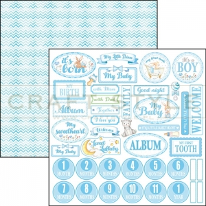 CBSS067 Ninna Nanna Boy Collection - papier 30,5x30,5 cm