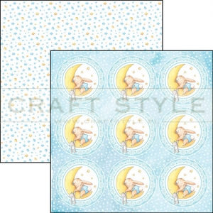 CBSS070 Ninna Nanna Boy Collection - papier 30,5x30,5 cm
