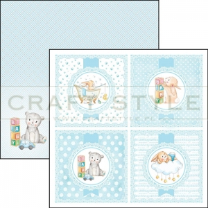 CBSS072 Ninna Nanna Boy Collection - papier 30,5x30,5 cm