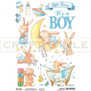 CBRP050 Ninna nanna Boy Collection - papier ryżowy A4