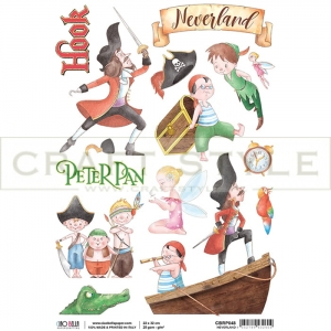 CBRP048 Neverland Collection - papier ryżowy A4
