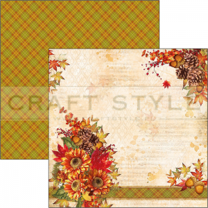 CBSS077 Sound of Autumn Collection - papier 30,5x30,5 cm
