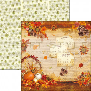 CBSS078 Sound of Autumn Collection - papier 30,5x30,5 cm