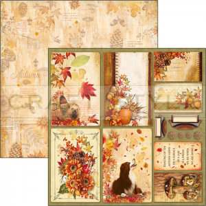 CBSS079 Sound of Autumn Collection - papier 30,5x30,5 cm