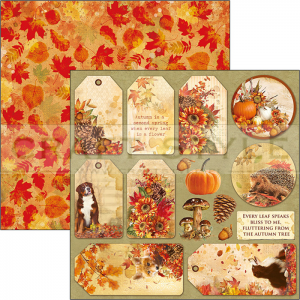 CBSS080 Sound of Autumn Collection - papier 30,5x30,5 cm
