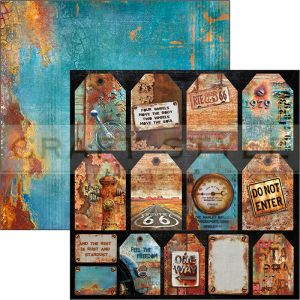 CBSS085 Collateral Rust Collection - papier 30,5x30,5 cm