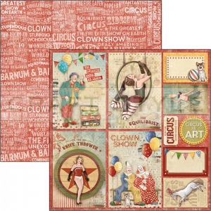 CBSS088 The Greatest Show Collection - papier 30,5x30,5 cm