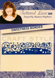 Wykrojnik Tattered Lace - Sweetness Border