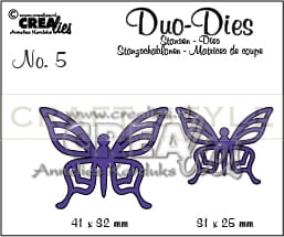 Wykrojnik CreaLies - Duo Dies no. 5 Butterflies 1